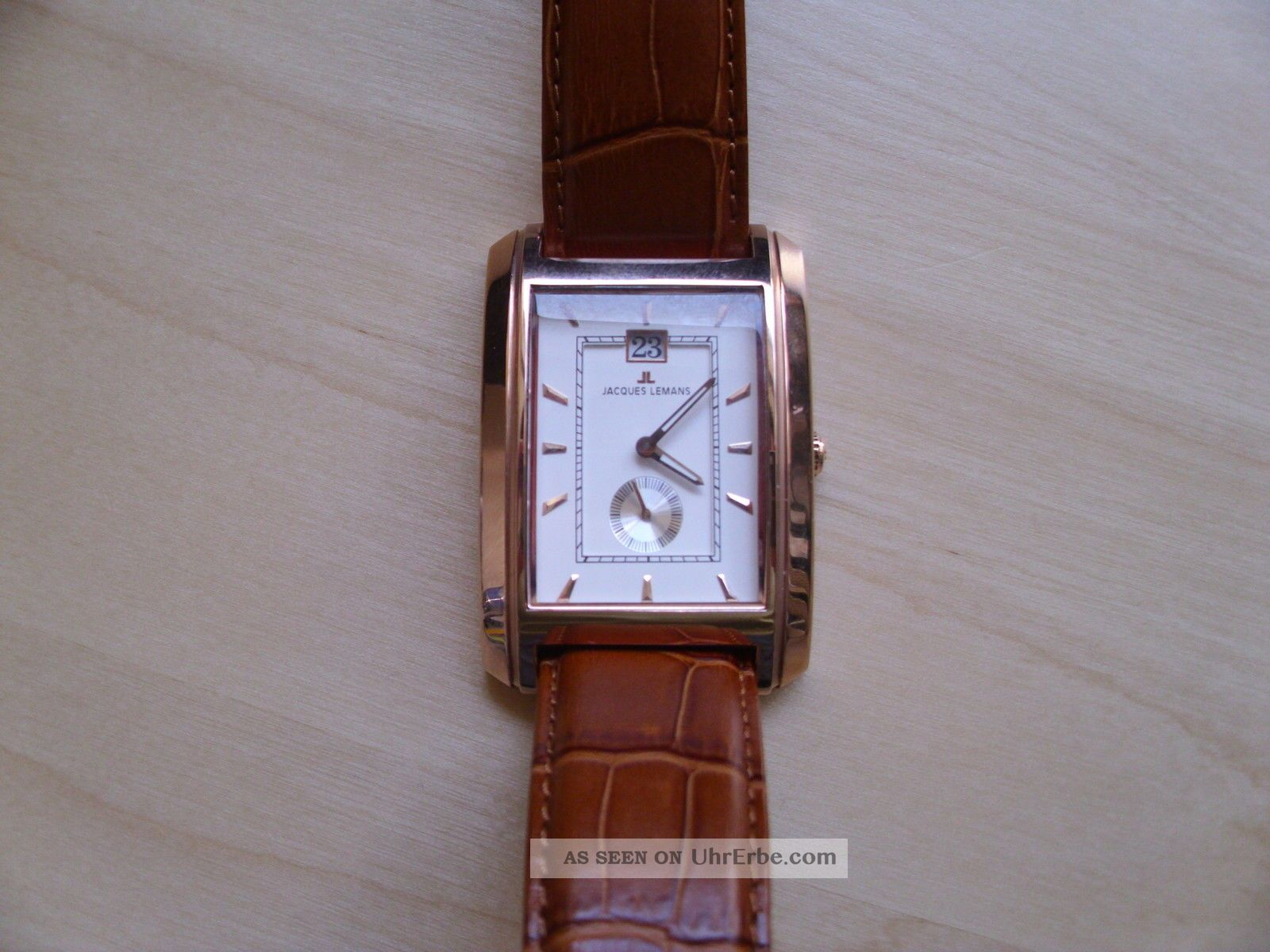 Jacques Lemans Format Herrenuhr 1 - 1406 D Armbanduhren Bild