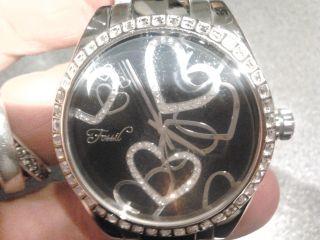 Fossil F2 Armbanduhr Für Damen Es 1951 Mit Herzen So Schön Bild