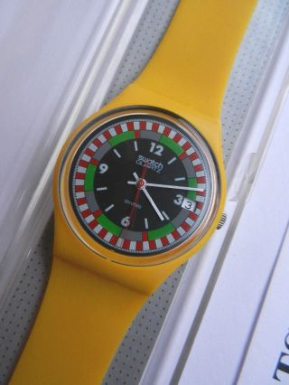 Swatch,  Gent,  Gj400 Yellow Racer,  Neu/new Bild