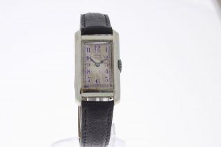 Alpina Grue Vintage Damenuhr Aus 14 Karat Weissgold Mit Handaufzug Bild
