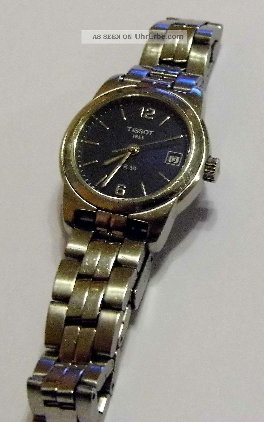 Damen Tissot Pr50 Uhr (kleines Zierliches Gehäuse) Armbanduhren Bild