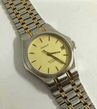 Tissot Seastar Quartz Unisex Armbanduhr,  Edelstahl & Vergoldet. Bild