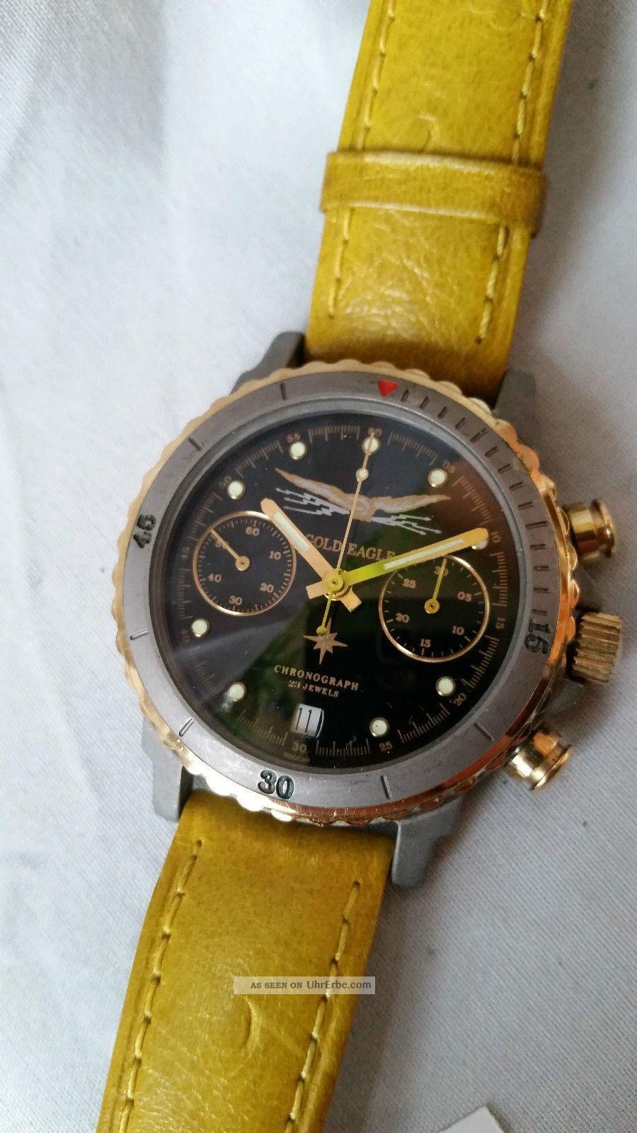 Poljot Russland Chronograph MilitÄr Handaufzug Cal.  3133 (61) Armbanduhren Bild