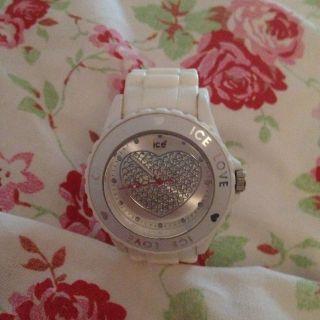 Ice Watch Uhr Love Herz Weiss Big Top Bild