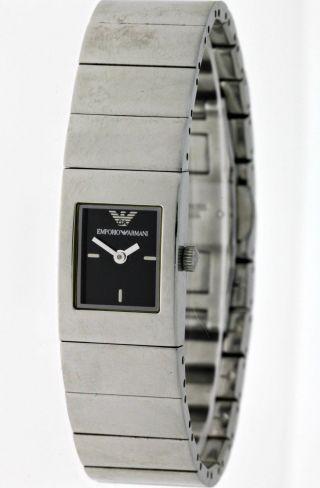 Emporio Armani Sportlich Modische Damen Designer Armbanduhr Ar5446 Edelstahl Box Bild