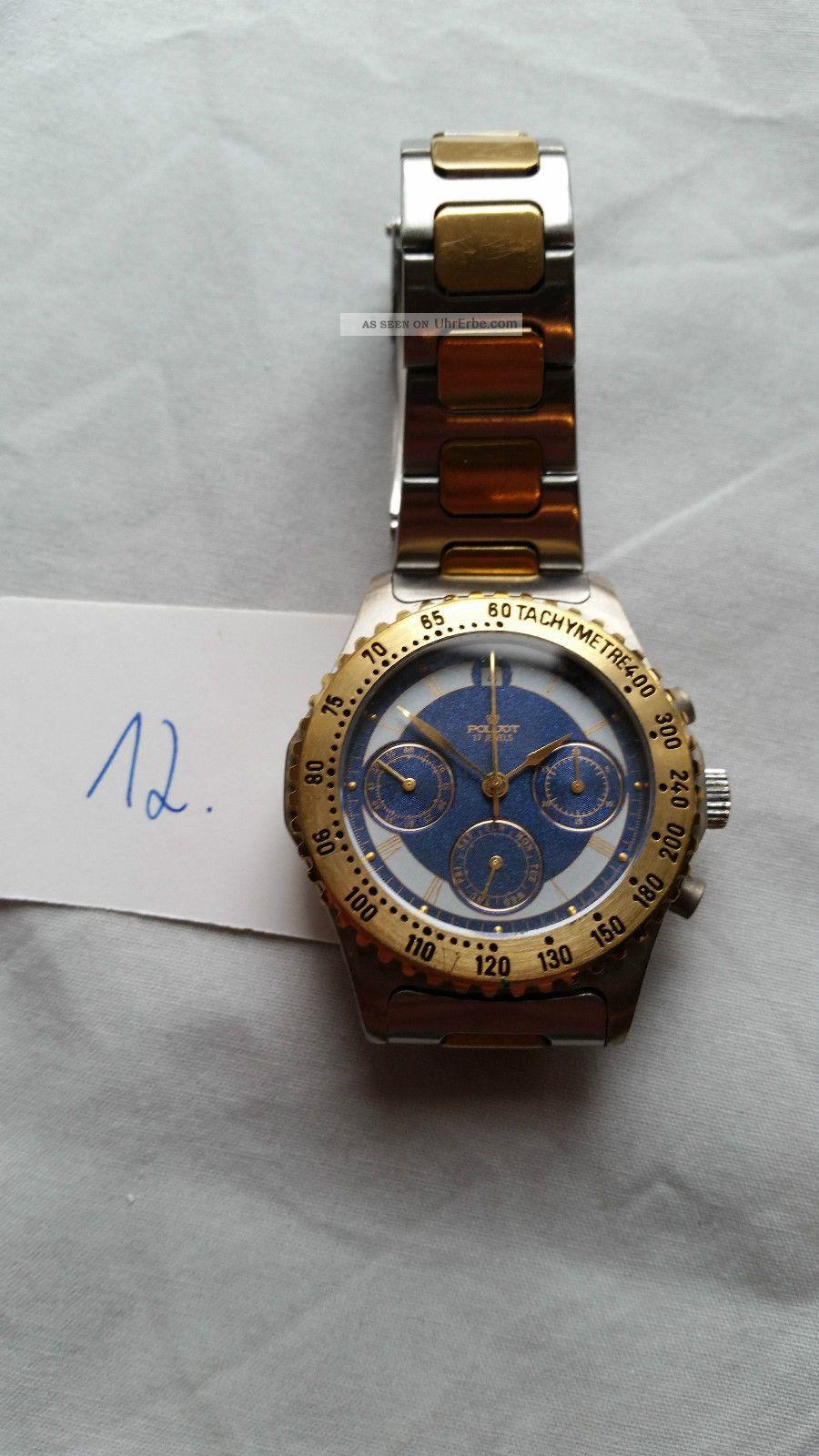 Poljot Russland Chronograph MilitÄr Handaufzug Cal.  3133 (12) Armbanduhren Bild
