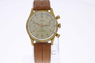 Nisus Vintage Chronograph Mit Handaufzugs Valjoux 23 Bild