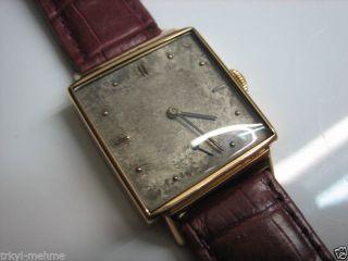 Iwc In 750 Gold 18k.  Von Ca.  1950.  Herrenuhr Bild