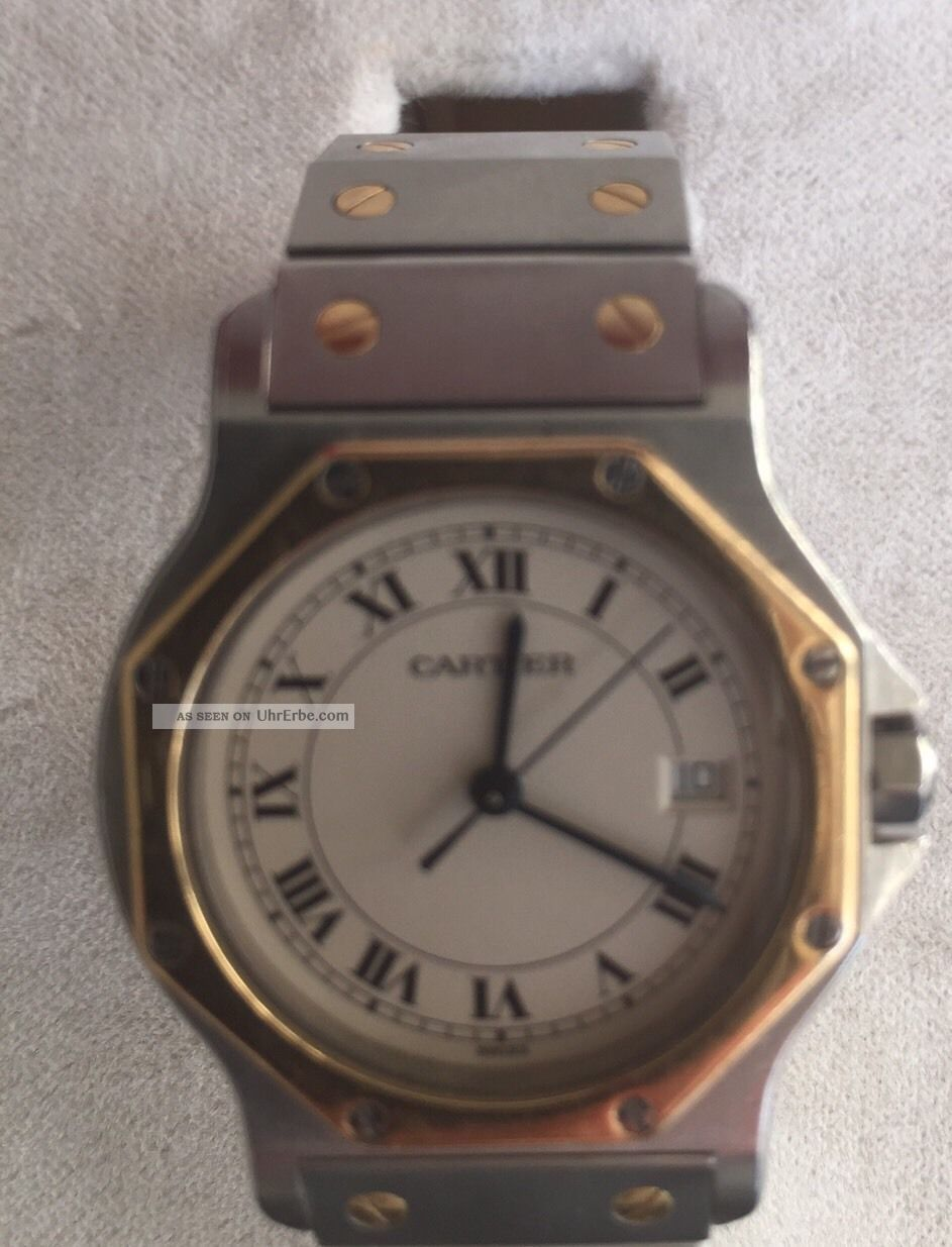 Cartier Santos Armbanduhren Bild