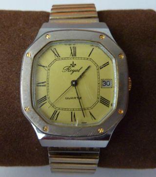 Royal Herren / Damen Armbanduhr Quartzuhr Bild
