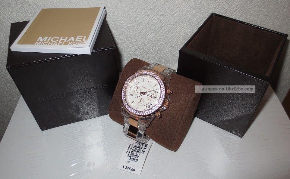 Michael Kors Damenuhr Mk5323 Ovp Armbanduhren Bild