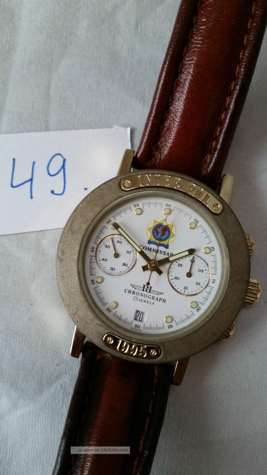 Poljot Russland Chronograph MilitÄr Handaufzug Cal.  3133 (49) Armbanduhren Bild