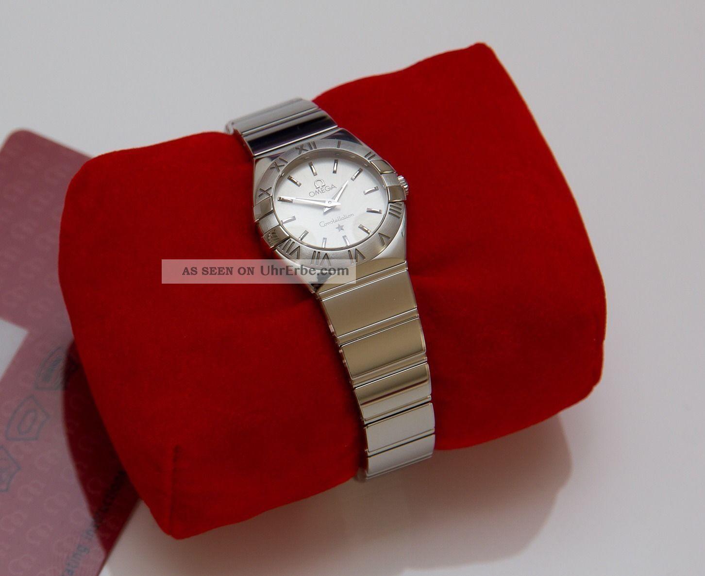 Omega Constellation Damen Uhr Ungetragen Mit Zubehör Armbanduhren Bild