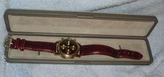 Kirsch Pforzheim,  Autom.  Chronograph,  Edelst.  Mit Aufgeschweisstem Gold 750 Bild