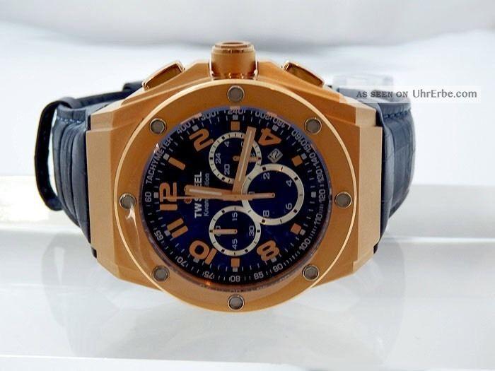 Tw Steel Ce 4003 Herrenuhr Kivanc Edition 44mm Np 719,  00€ Unisex Armbanduhren Bild