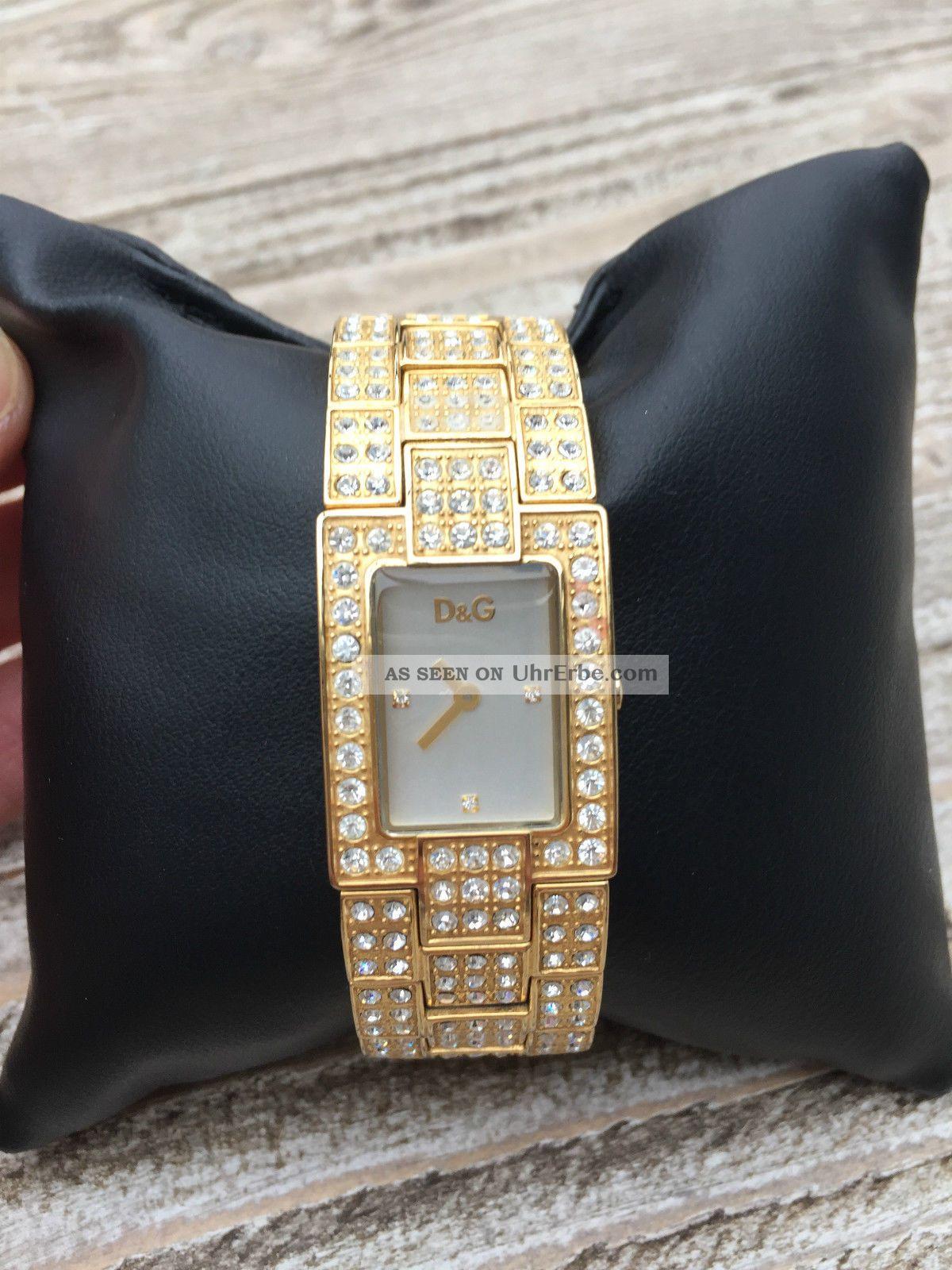 Dolce Gabbana Damenuhr Gold Armbanduhren Bild