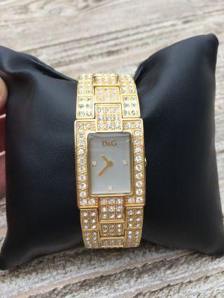 Dolce Gabbana Damenuhr Gold Bild