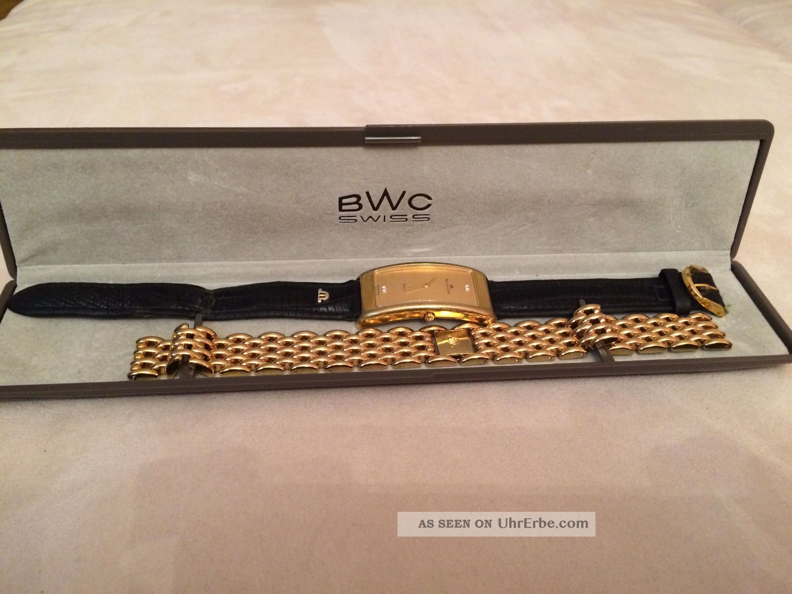 Maurice Lacroix Armbanduhr Für Damen Mit Ersatzarmband Armbanduhren Bild