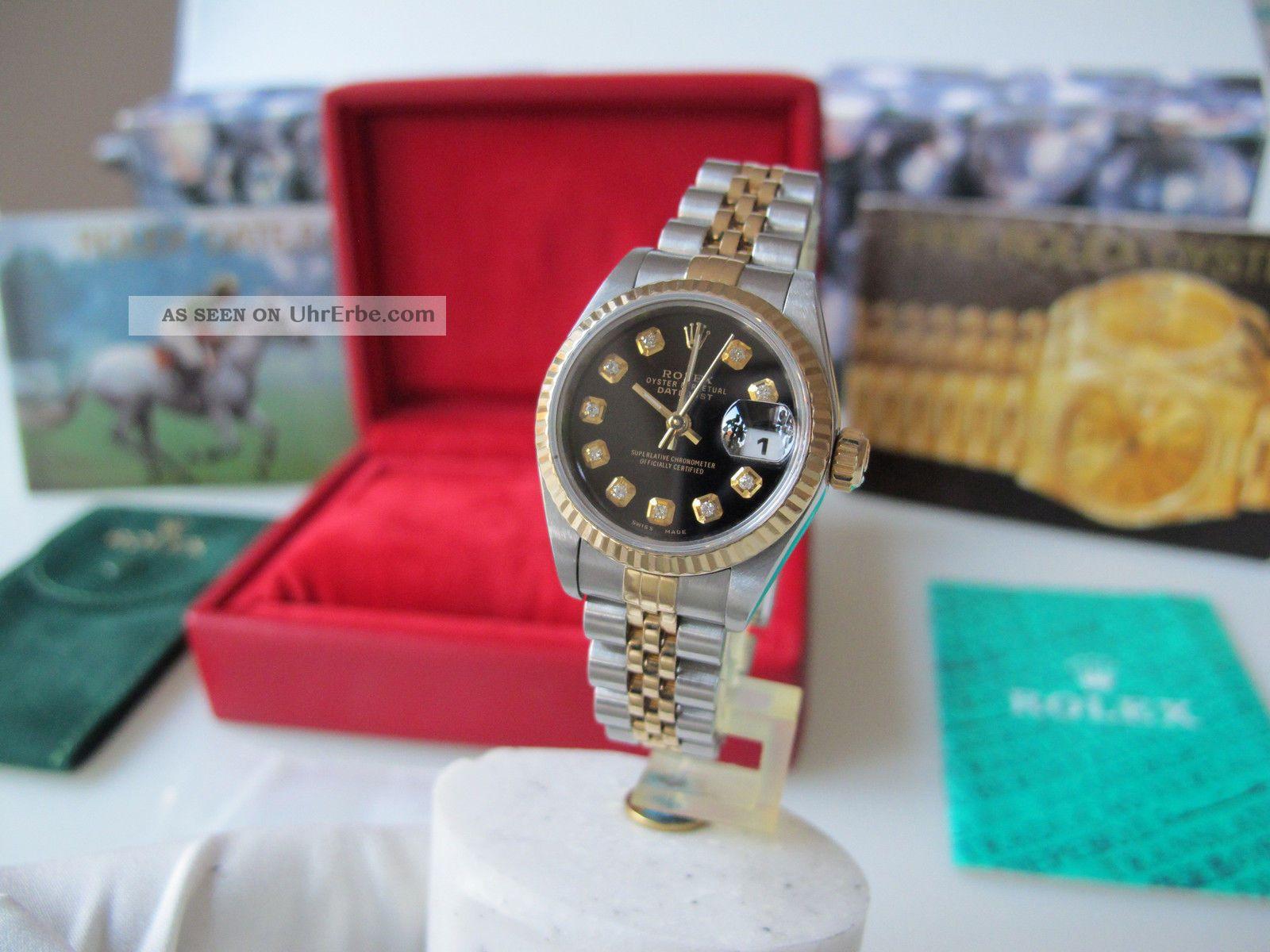 Rolex Lady Datejust Diamant Zifferblatt Armbanduhren Bild