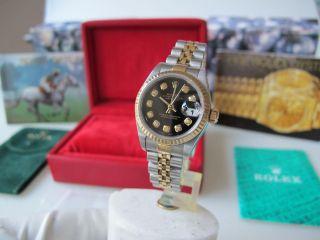 Rolex Lady Datejust Diamant Zifferblatt Bild