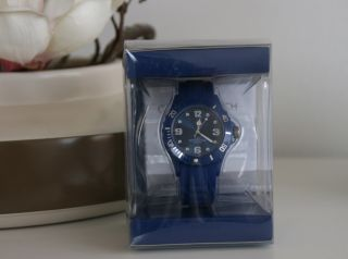 Colour Watch Coole Farbige Armband Uhr Blau - Mit Ovp Bild