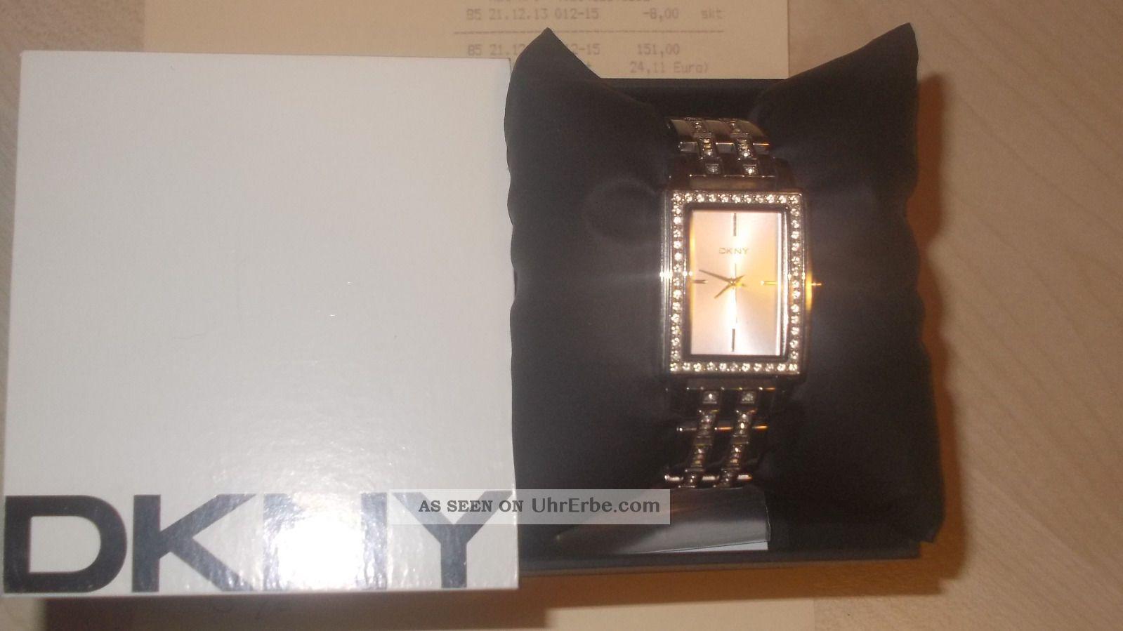 Damenuhr Von Dkny Neuwertig Noch Mit 1 Jahr Armbanduhren Bild