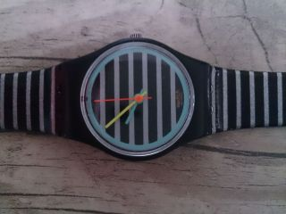 Swiss Watch Mädchen Silikon Armbanduhr Vintage Bild