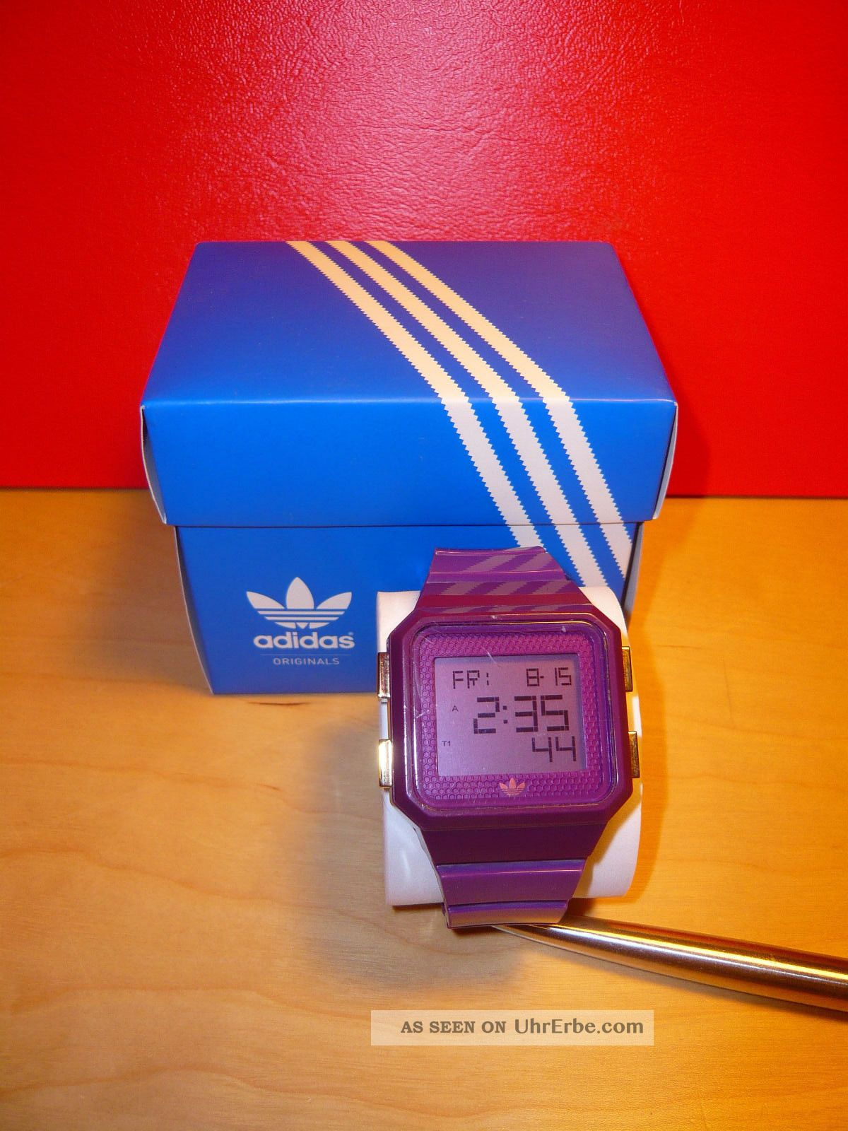 Adidas Originals Uhr Adh 4038 Baujahr 2012 Armbanduhren Bild