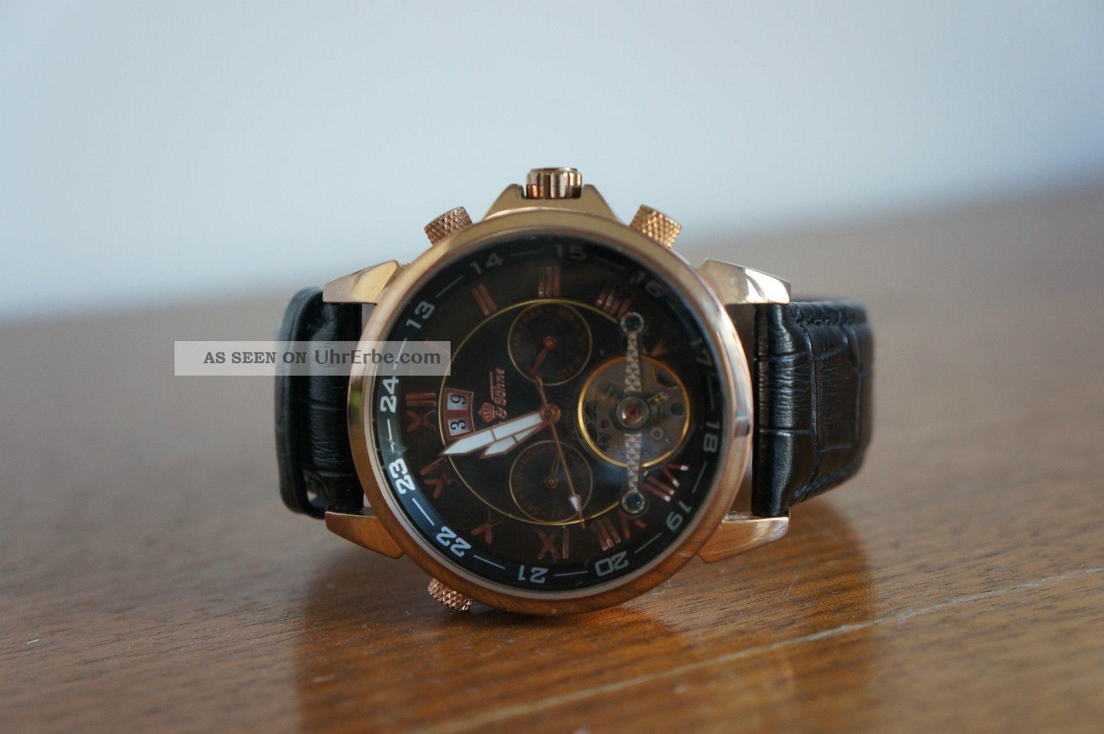 Ivens & Söhne Automatik Uhr,  Edelstahl,  Wasserdicht,  Aber Gut Erhalten Armbanduhren Bild