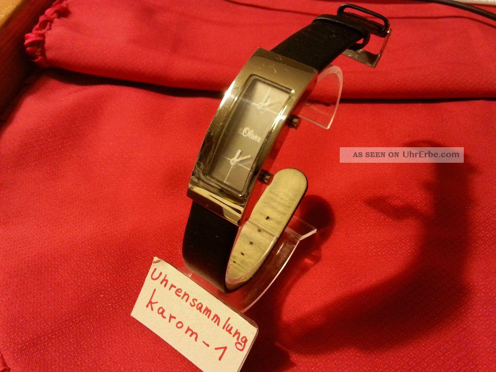 S.  Oliver Soliver S Oliver Damenuhr All Stainless Steel 3 Atm Uhrensammlung Top Armbanduhren Bild