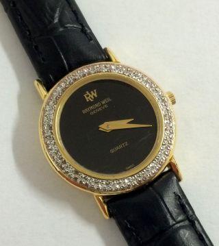 Raymond Weil Geneve Quarz Damen Armbanduhr,  Mod.  : 5 834. Bild