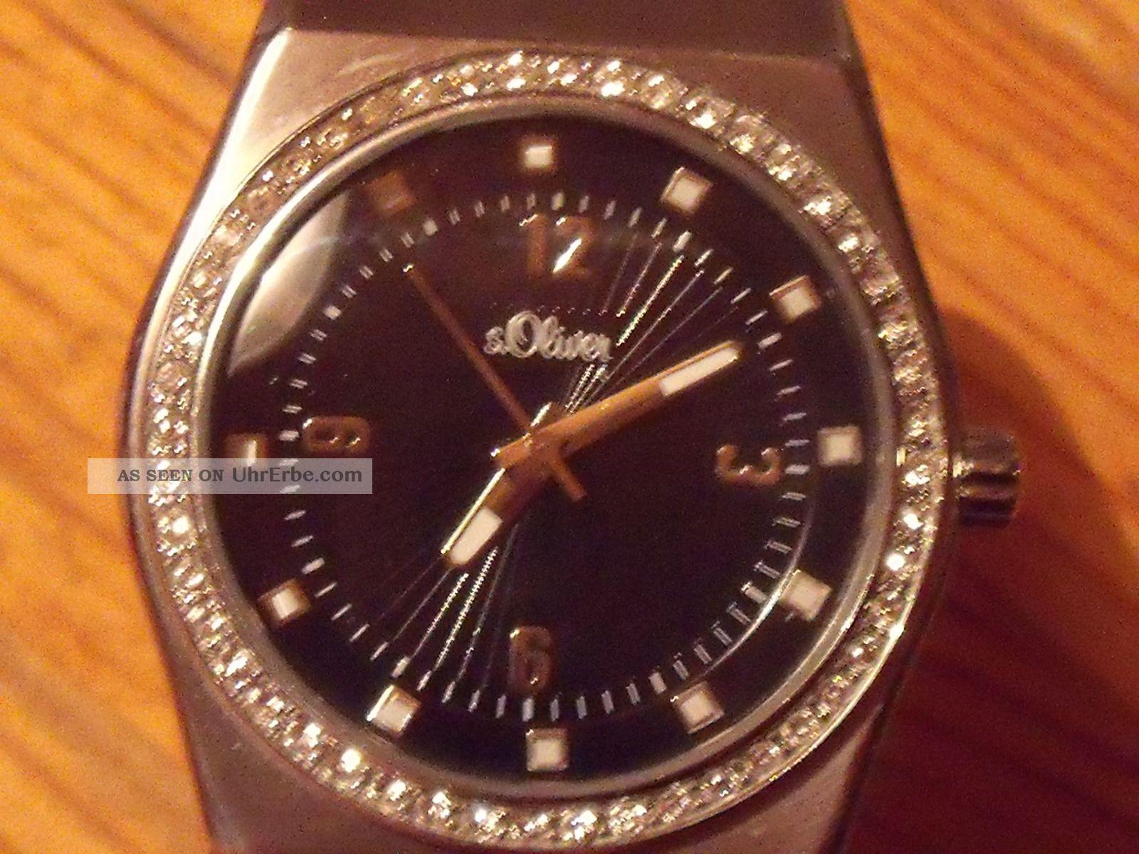 S.  Oliver Herren / Damen Armbanduhr 1542a Armbanduhren Bild