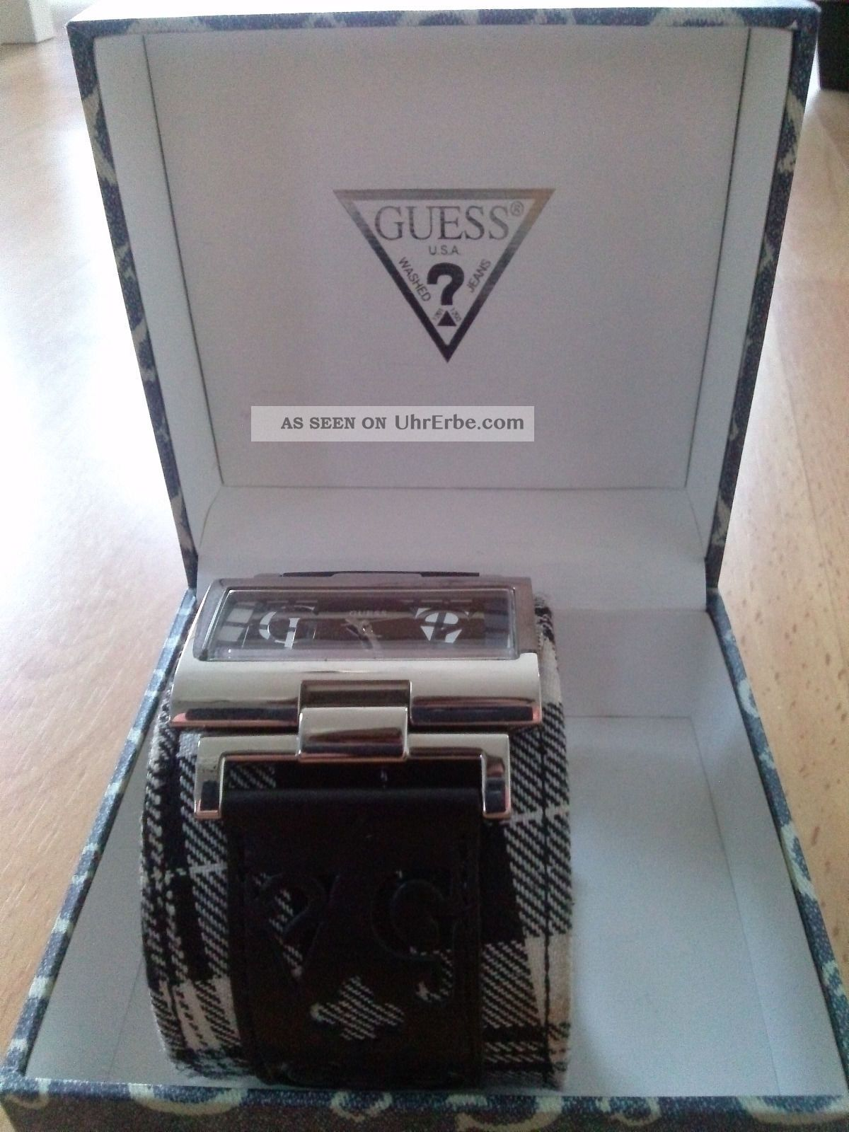 Einzigartige Guess Damen Armbanduhr Mit Tollen Details Armbanduhren Bild