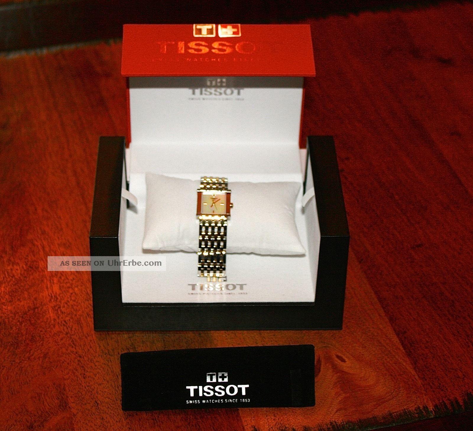 Tissot Damenarmbanduhr (bicolor) Armbanduhren Bild