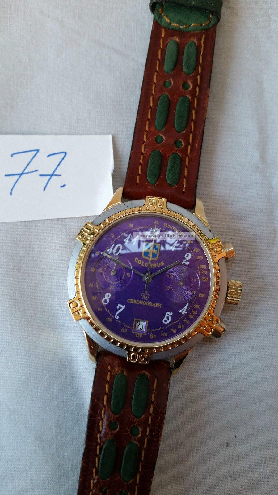 Poljot Russland Chronograph MilitÄr Handaufzug Cal.  3133 (77) Armbanduhren Bild