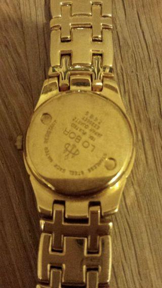 Lobor Damenuhr,  Gold,  Weihnachtsgeschenk. Bild