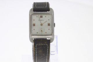 Cortebert Vintage Armbanduhr Mit Handaufzug Old Stock Bild