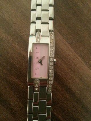 Esprit Armbanduhr Für Damen Mit Strasssteinen Houston Bild