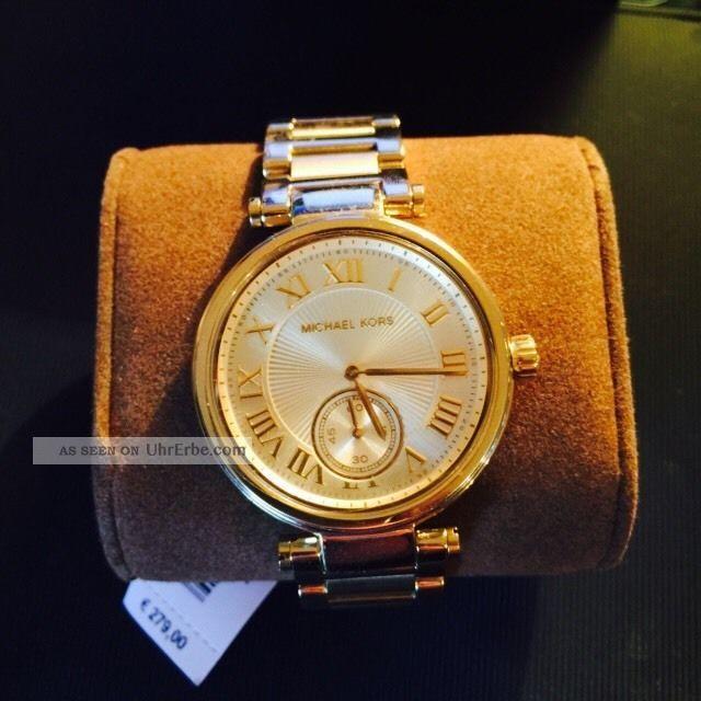 Wunderschöne Michael Kors Uhr Mk5867 Gold Armbanduhren Bild