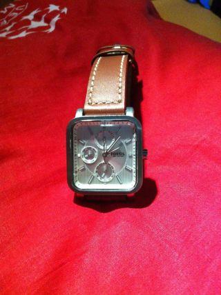 Tolle Armbanduhr Von Fossil Bild