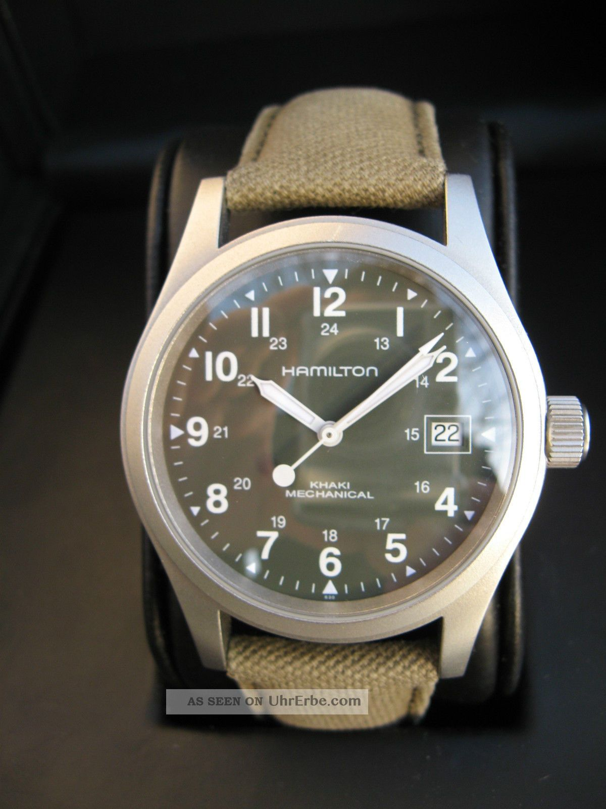 Hamilton Khaki Field Mechanical Handaufzug (swiss Eta 2804 - 2) Armbanduhren Bild