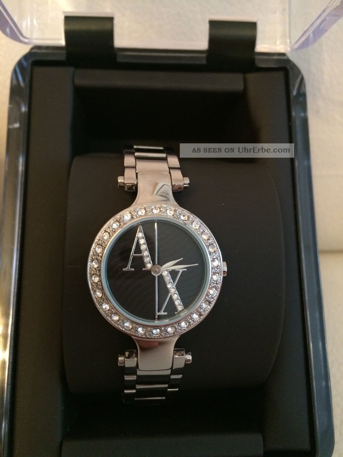 Armani Exchange Damenuhr,  Stainless Steel, Armbanduhren Bild