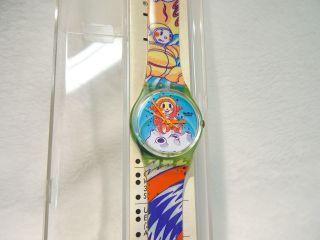 Swatch Von 1991 Ungetragen Mit Neuer Batterie Bild