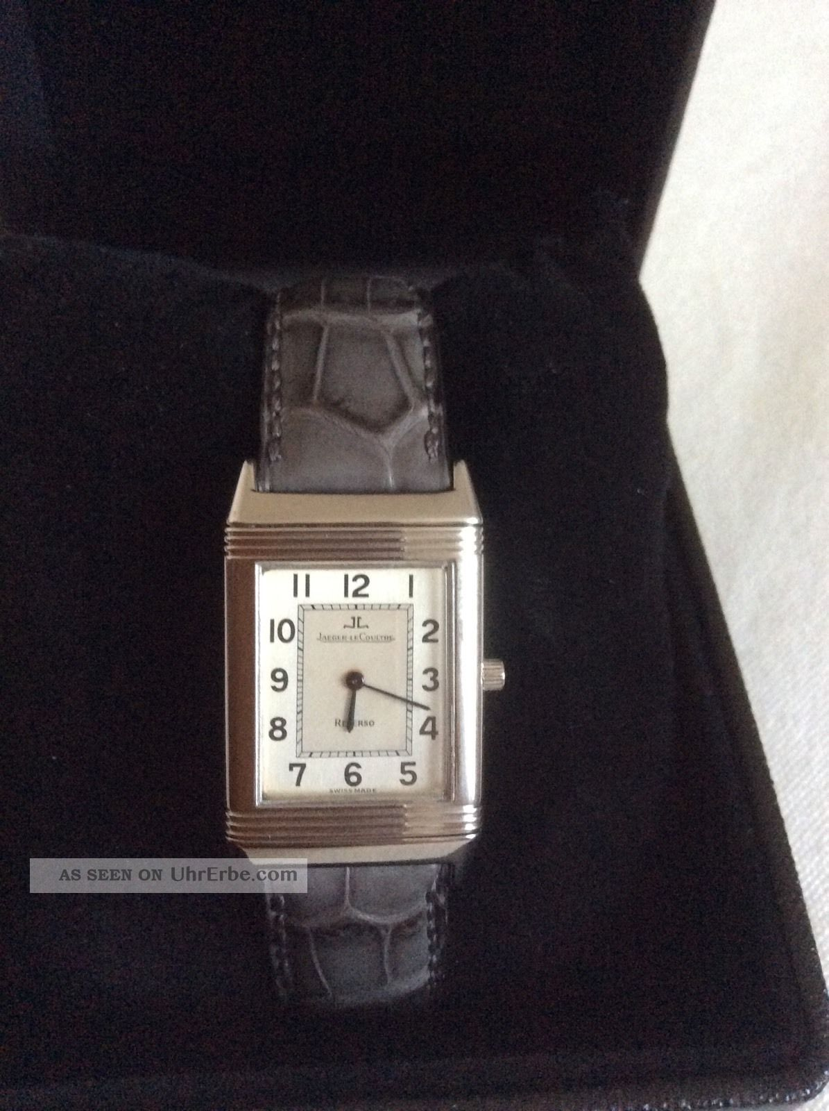 Jaeger Lecoultre Reverso Classic Handaufzug Armbanduhren Bild