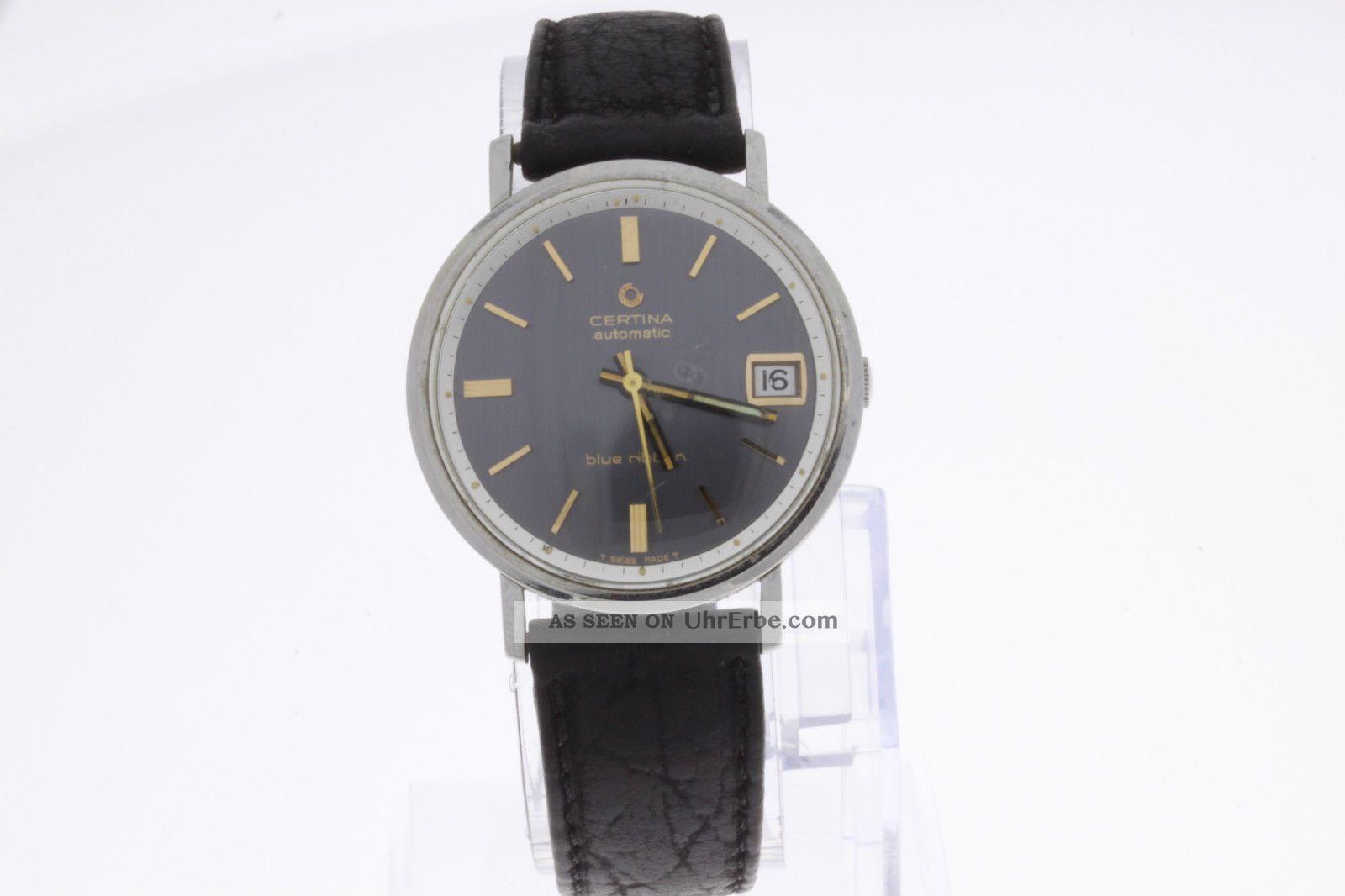 Certina Blue Ribbon Automatic Armbanduhr Armbanduhren Bild