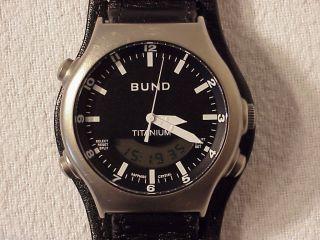 Bw Einsatzuhr Bund Titanium Boccia Tutima Ksk Bundeswehr Afghanistan Bild
