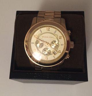 Michael Kors Uhr Chrongraph Edelstahl Gold Roségold Silber Blogger Bild