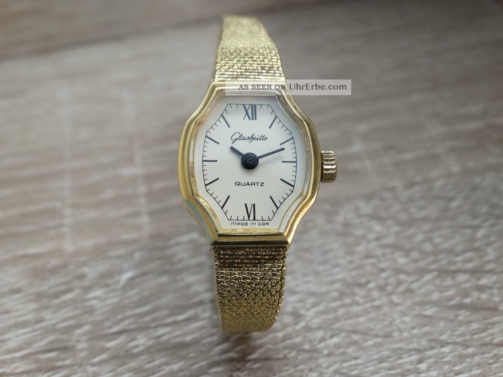 Glashütte Armbanduhr Made In Gdr Armbanduhren Bild