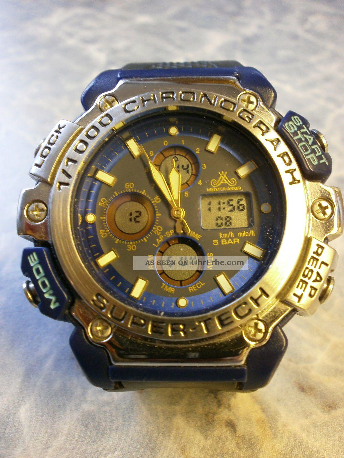 Meister - Anker Armbanduhr Sportuhr Armbanduhren Bild