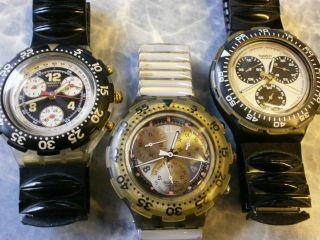 Swatch Armbanduhren Konvolut Bild
